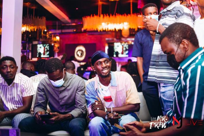 DJ Mensah hosts birthday bash for Mr Drew