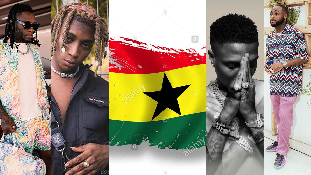 Why Nigerian topshots love hanging out in Ghana! A case of Patoranking, Bella Shmurda, Burnaboy, Davido & Wizkid!