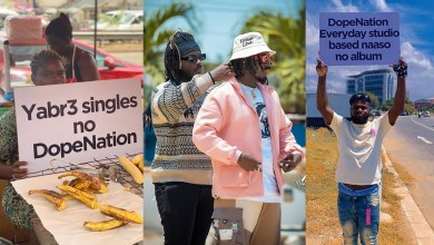 DopeNation sabotaged over banger drought; placards hit the streets!