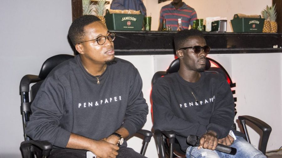 Kojo Cue and Lil Shaker