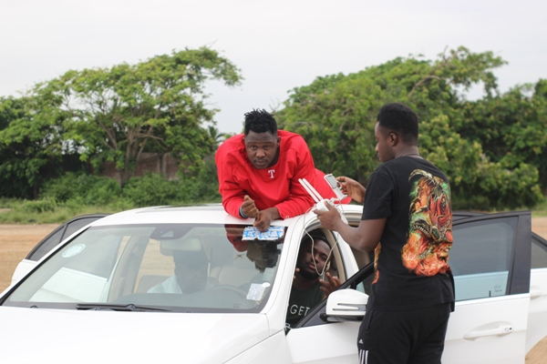"Medikal & Pappy Kojo Shoot Music Video For ""Obiaa Y3 Ghost"""
