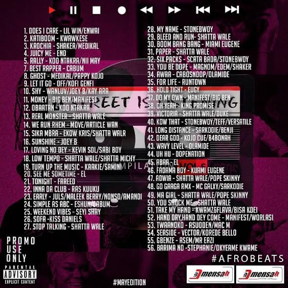 DJ Mensah - Street Is Listening (Vol. 5)