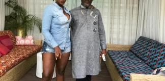 Ebony Reigns & Dad