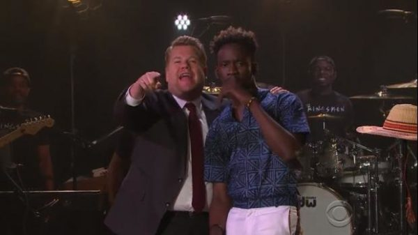 WATCH: Mr Eazi Performs On 'The Late Late Show' With James Corden