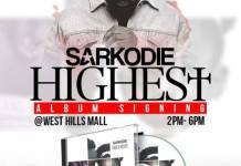 Sarkodie Album Signing