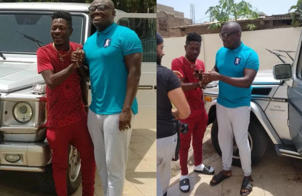 Checkout Shatta Wale's G-Wagon As A Birthday Gift From Dr Duffour Jnr x Bola Ray