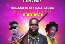 "Manifest, Ebony, Kofi Kinaata For ""No Where Cool"" Concert"