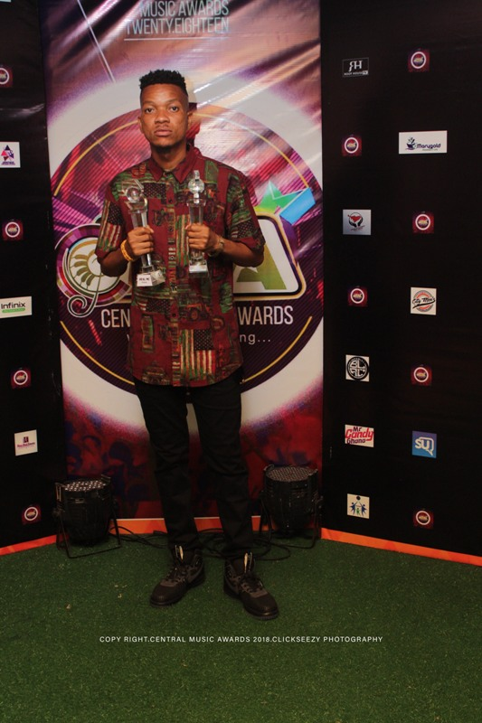 Real mc wins Central music awards 2018 (8)