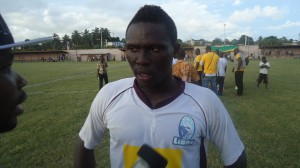 Gilbert Fiamenyo - Black Stars striker