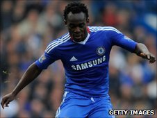 Ghanian star Michael Essien, travelled nearly 2,000 miles to make an appearance at Didier Drogba's wedding in Monaco on Sunday.