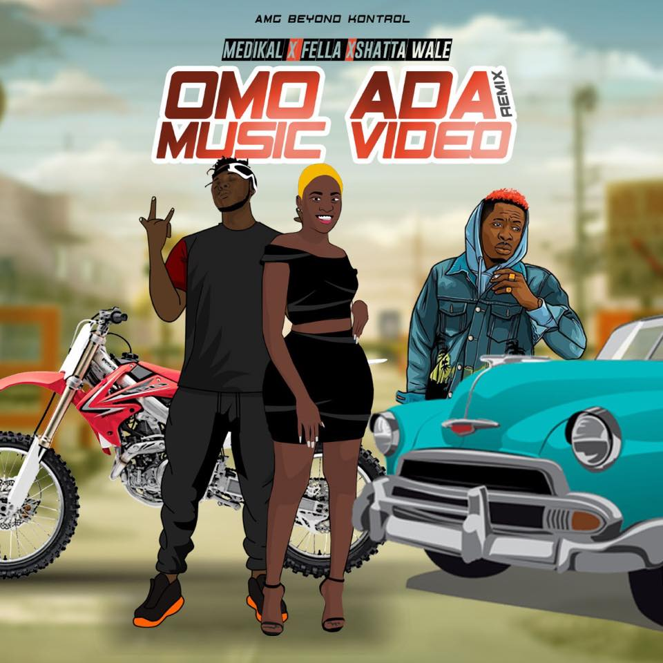Medikal - Omo Ada Remix ft Shatta Wale x Fella Makafui