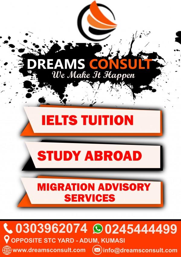 IELTS Tuition Centre (Kumasi. Ghana) - Contact Phone. Address