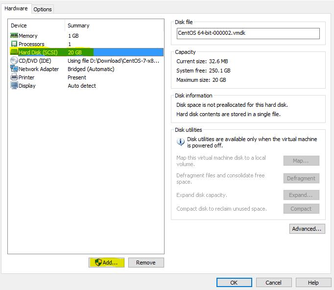 How to Add a New Virtual Disk for an Existing Linux Virtual
