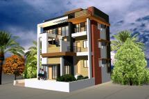 Exterior Elevation Design - Gharexpert