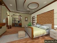 Interior Design Bedroom High Ceilings