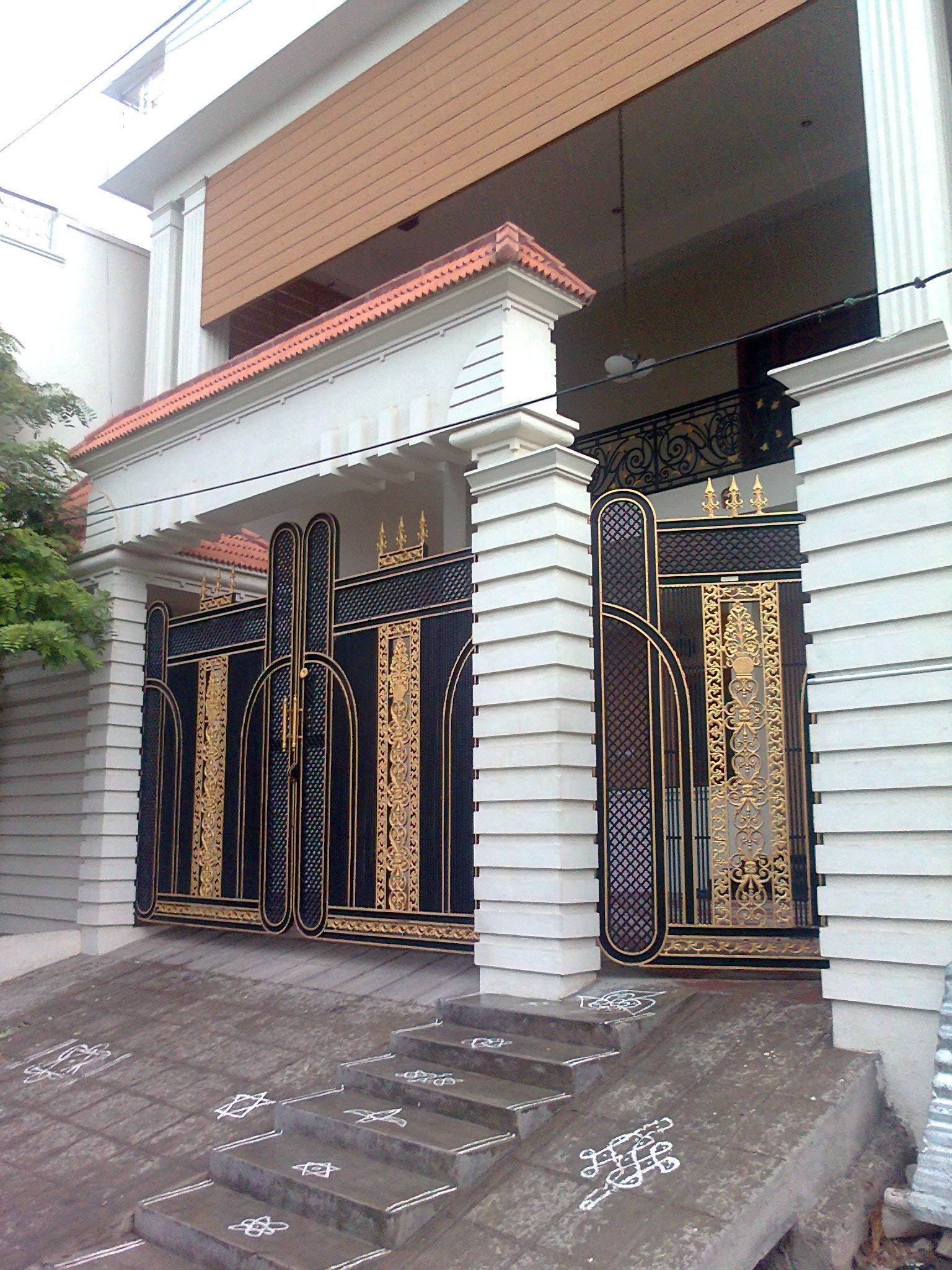 Entrance gate design for home