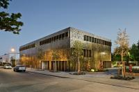 Steel facade for commercial building - GharExpert