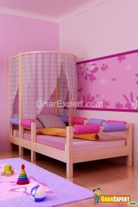 Canopy Decor over Toddler Bed