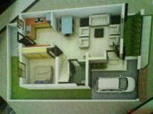 Perfect 1 Bhk House - Home Building Plans