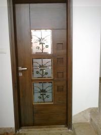 Teak Wood Pooja Room Door Designs | Joy Studio Design ...