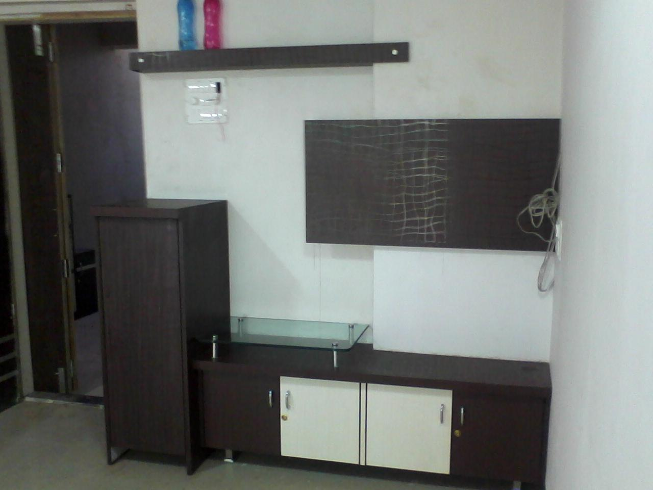 kitchen cabinet estimator organizer lcd tv unit design - gharexpert