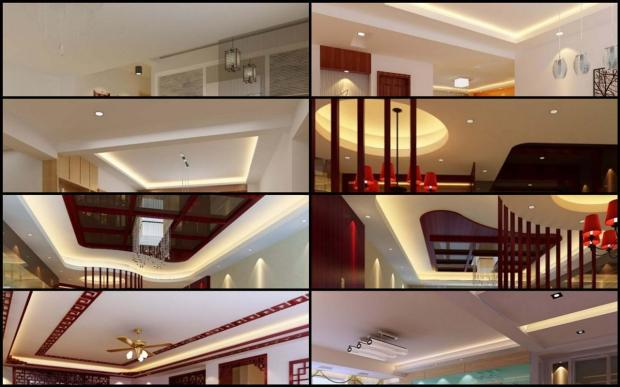 Different Types of Ceiling Designs