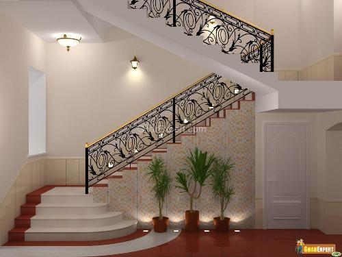 Staircase Railings Staircase Stair Railing Staircase Design   Staircase Design For Duplex   Living Room   Villa   Indian   Modern   Flat