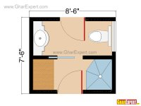 Bathroom Plans, Bathroom Layouts for 60 to 100 square feet ...