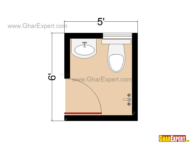 Bathroom Layouts And Plans For Small Space Small Bathroom Layout Gharexpert Com