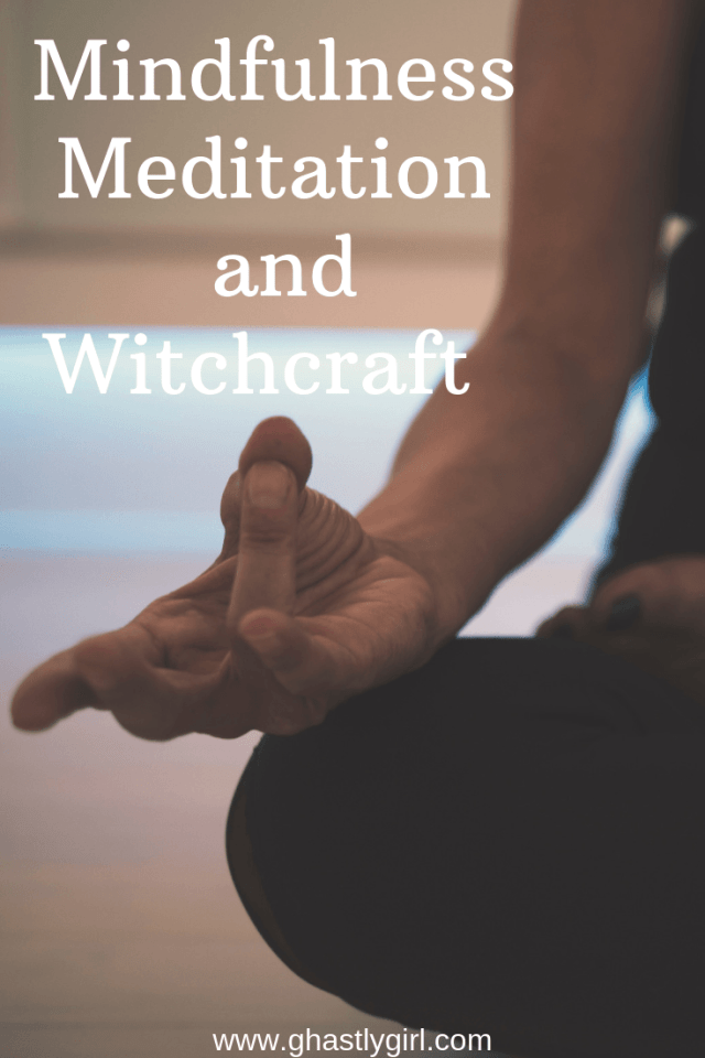 Learning meditation and mindfulness should be one of the first tasks of a new witch #pagan #witchcraft #witchtips #mindfulness #meditation #visualization