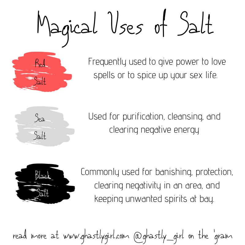 magical uses of salt