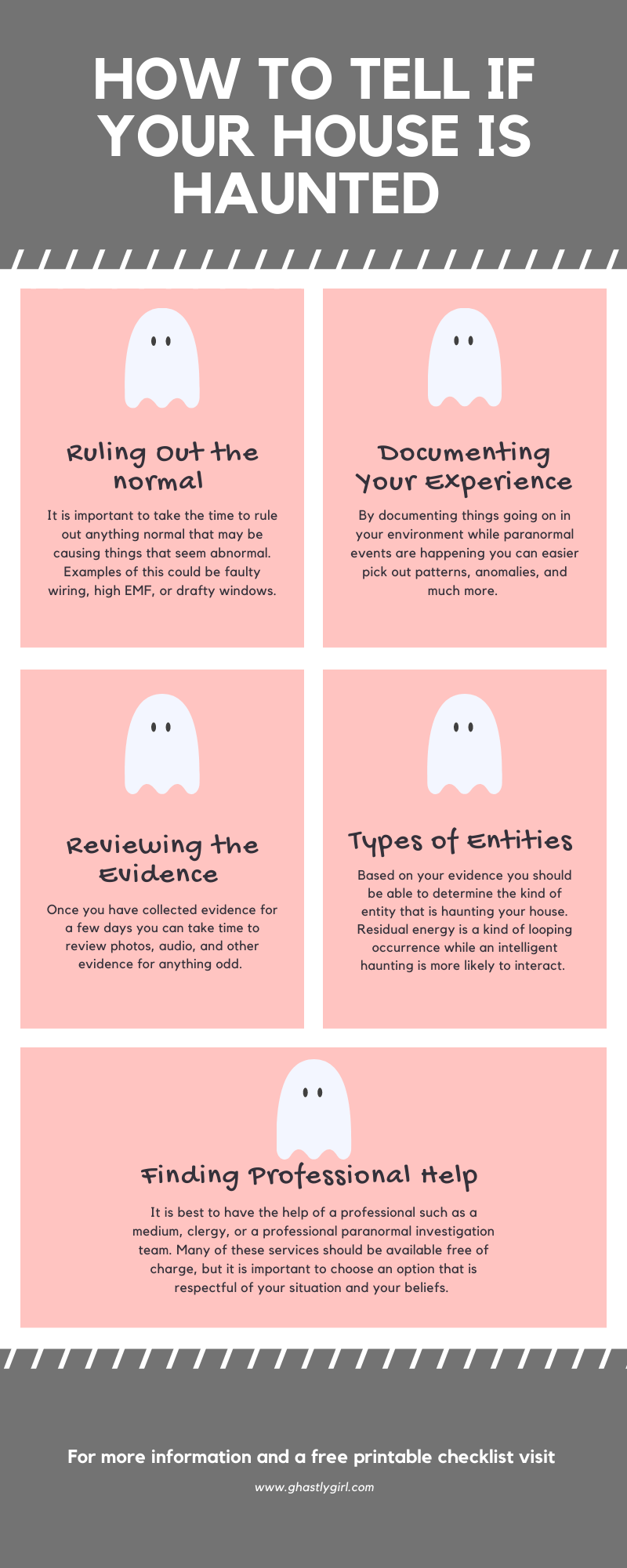 Learn how to tell if your house is haunted and what you should do if you think you have a ghost #paranormal #haunted #ghost #occult #weird #pagan
