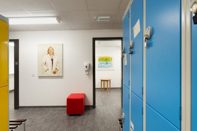 Staff Changing Room, ARI