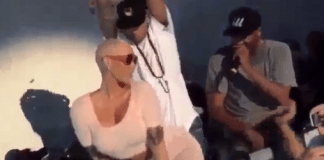 amber rose-twerking chris brown
