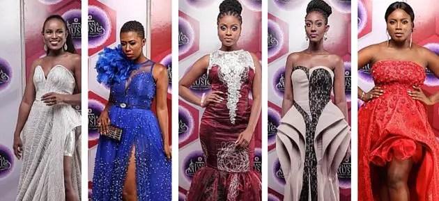 dresses celebrities wore to 2016 vgma