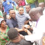 In Photos: Church Members Jubilate After 'Angel' Obinim Was Granted Police Bail