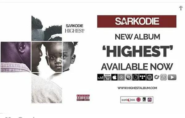 Sarkodie's Highest Album
