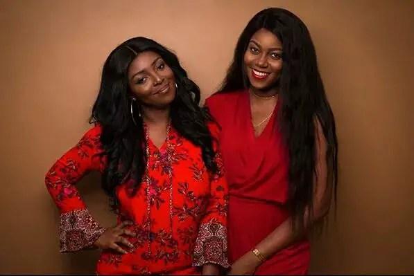 Yvonne Nelson &Yvonne Okoro