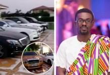Nana Appiah Mensah's cars