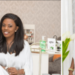 Meet Nana Aba Anamoah's Date During The Launch Of A Friend's Shop – Video