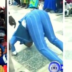 Video: Angel Obinim Dances 'Acrobatics' On The Floor After Church Member Won 300k Cedis Lottery Cash