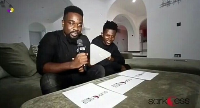 """IMG 20180727 113250 470 1 - """"Sarkodie is not yet a wack rapper"""" – Strongman comments on writing raps for Sark (+ Video)"""