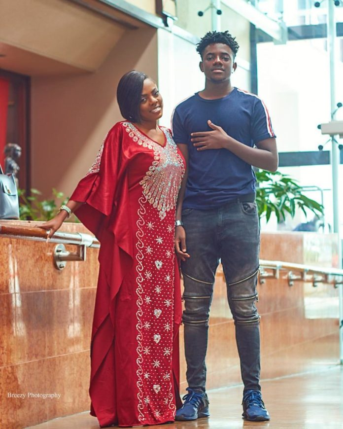 """counselor4 - """"You are the most important person in my life""""–Nana Aba Anamoah dedicates award to her son even when he begged her not to (Watch Video)"""