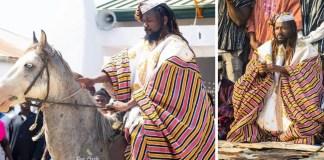 Samini enskinned as chief of Wa