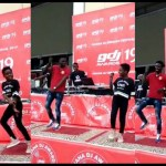 DJ Switch Shows Her Dance Moves As She Performs With Kuami Eugene At The 2019 Ghana Dj Awards Cypher