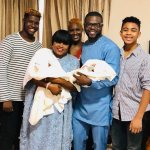 Nigerian Actress Funke Akindele Shows The Faces Of Her Twins For The First Time
