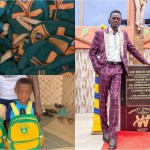 Kwadwo Nkansah Lil Win Buys 1000 Branded School Bags For Students In His Great Minds School