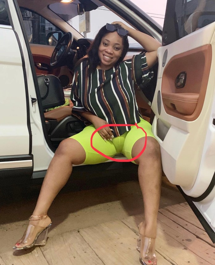 7F964373 3150 468F 9377 28FAFB39C512 - Oh Lorrd!! Moesha Buduong Puts Her Huge 'Akosua Kuma' On Display And Everyone Is Going Nuts About It