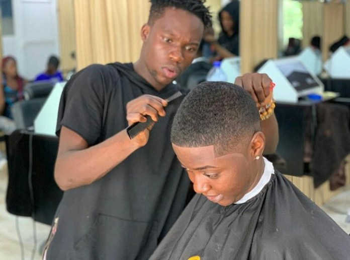 IMG 20190226 035910 198 - Get Familiar With Celebrity Barber, The Brain Behind Sarkodie, Shatta Wale, KiDi, Other Celebrities' Haircut