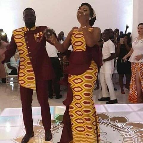 3082AF6C A53A 49CA 8BBE 42065FBA5C2D - Former Arsenal star Emmanuel Eboue remarries again,settles for African woman this time around